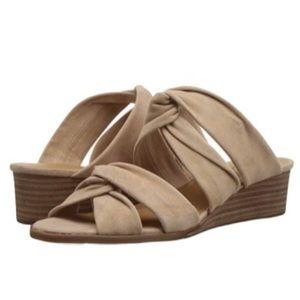 Lucky Brand Rhilley Wedge Slip On Tie Sandals